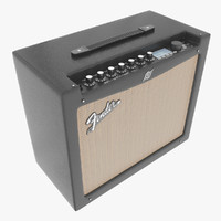 amplifier fender 3d model