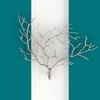 3d max tree branch wall