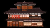 Japanese old Tradition House 001
