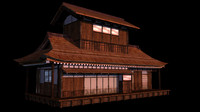 Japanese old Tradition House 008