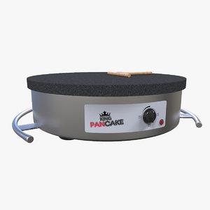 3d model pancake machine