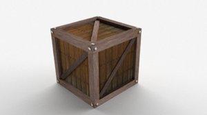 obj simple box