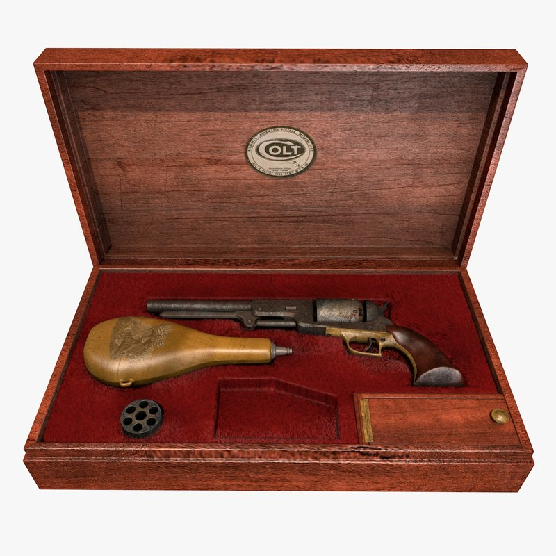 COLT WALKER 1847 & CASE
