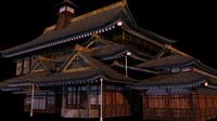 Japanese old Tradition House 012