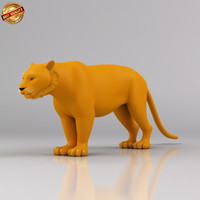 3ds max tiger cat