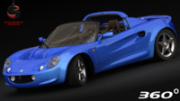 elise sport 1999 3d model