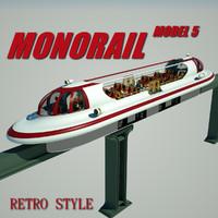 3d monorail 5