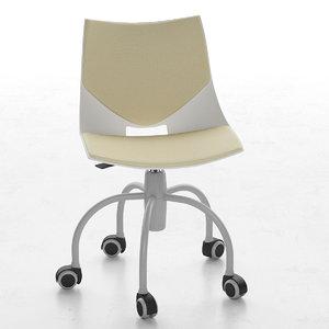 3d model children chair