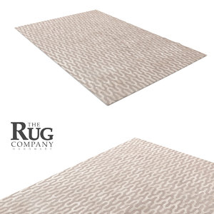 3d model rug company ponti silk