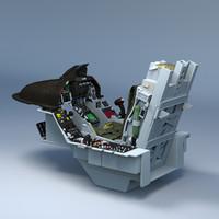 3d f16 cockpit