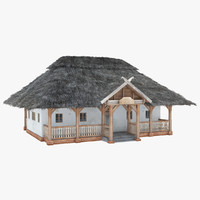 3d old s house model