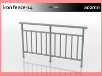 Iron Railings Fence 14