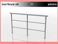 max iron railing fence