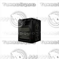 grey tee box 3d model