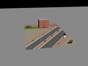 environment games 3d model