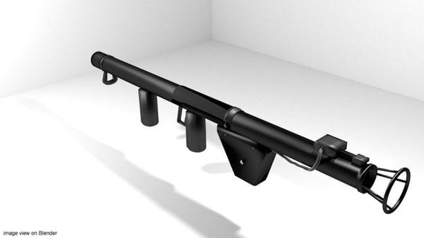 rocket launcher bazooka 3ds