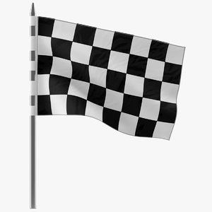 racing flag 5 3d 3ds