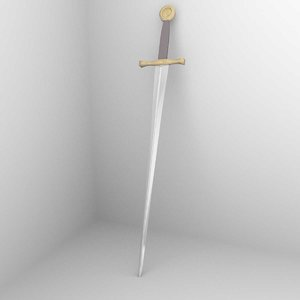 excalibour swrod 3d model