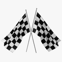racing flag 3D models