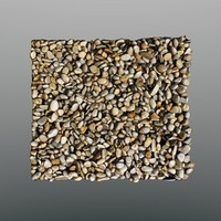 3d model scan coarse gravel