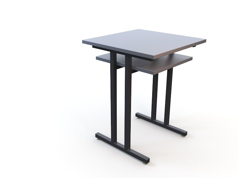 small table pc 3d max