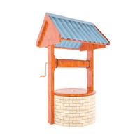 3d model of water brick