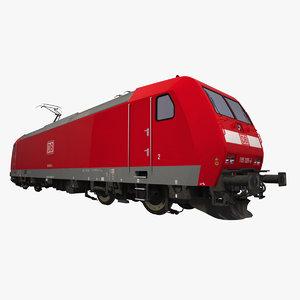 3d traxx electric locomotive engines model