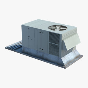 rooftop air conditioner 3d model