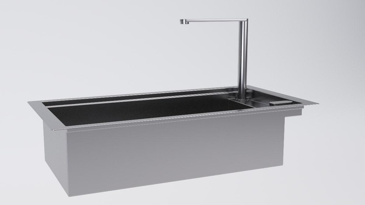 3d barazza lab 1llb95 - model
