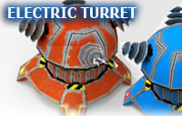 turret electric obj