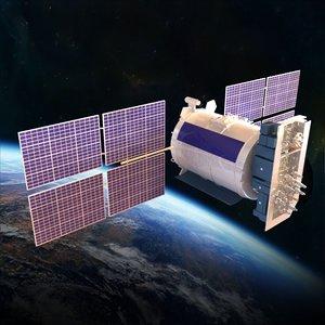 satellite glonass 3d 3ds