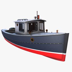 3d cruiser boat