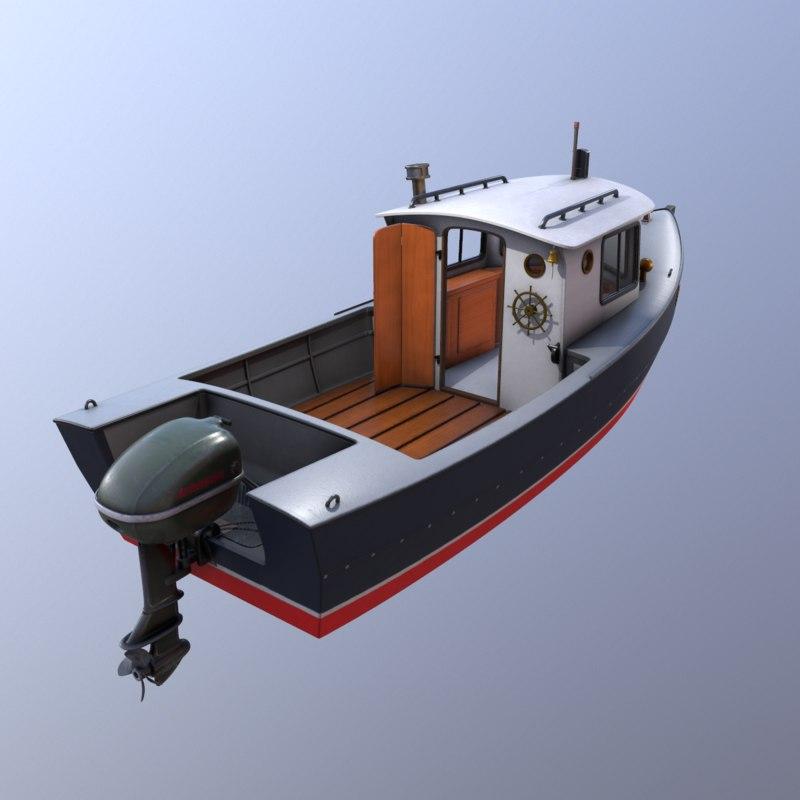 3d cruiser boat cruising