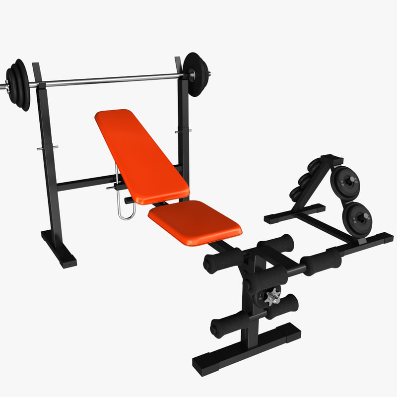 3ds max weight bench