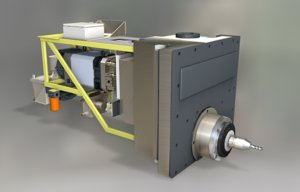 drill cnc 3d model