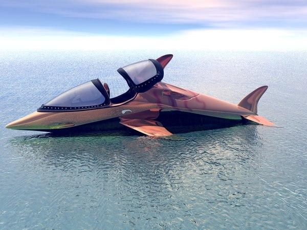 maya speed boat dolphin