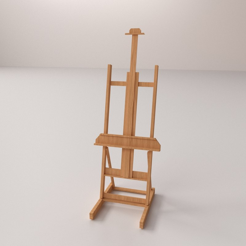 3ds max painter easel