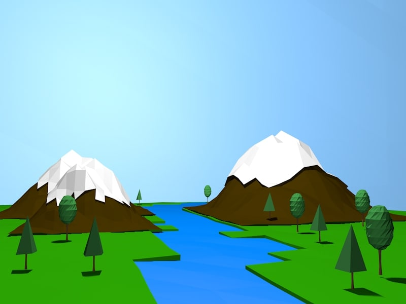 maya landscape