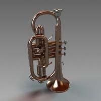 3d model cornet