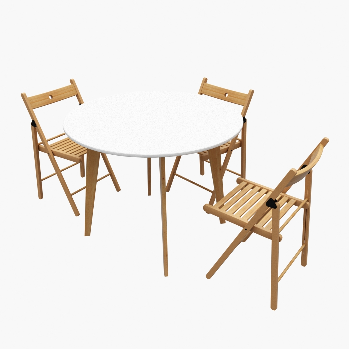Round Kitchen Table Ikea Terje Chairs