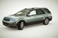 3d model of generic wagon v1 color