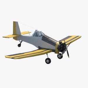 3d agricultural aircraft