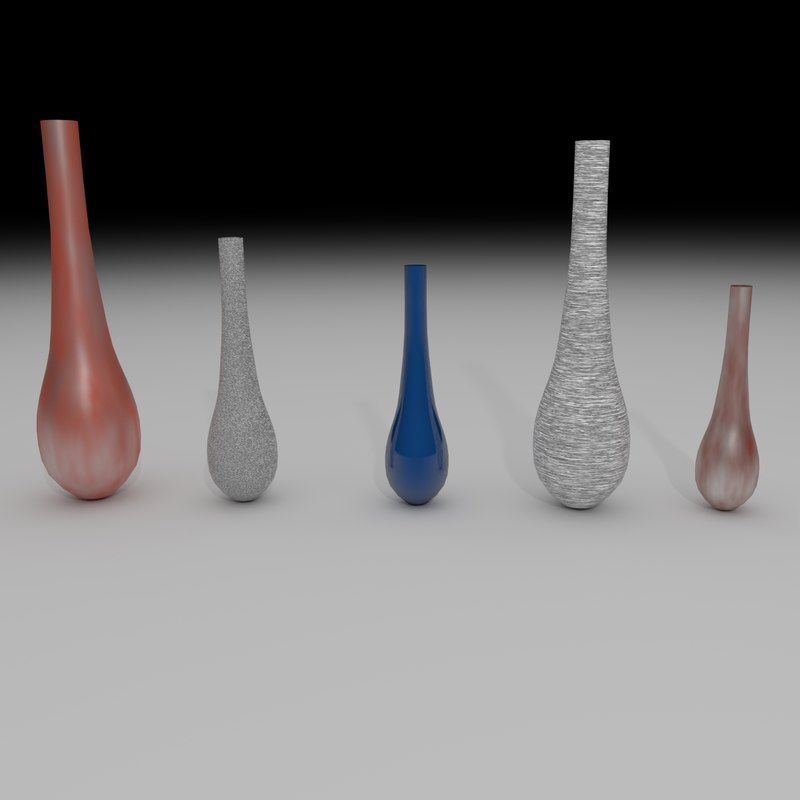 3d model vases collections