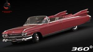 3ds max cadillac eldorado biarritz 1960