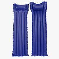 inflatable air mattress 3 3d model