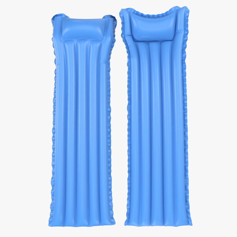 3ds max inflatable air mattress 3