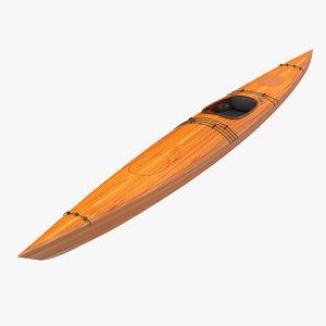 kayak 4 modeled max