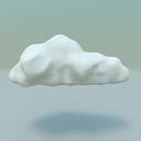 cartoon cloud 3D models