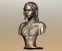 3d model daenerys targaryen printing