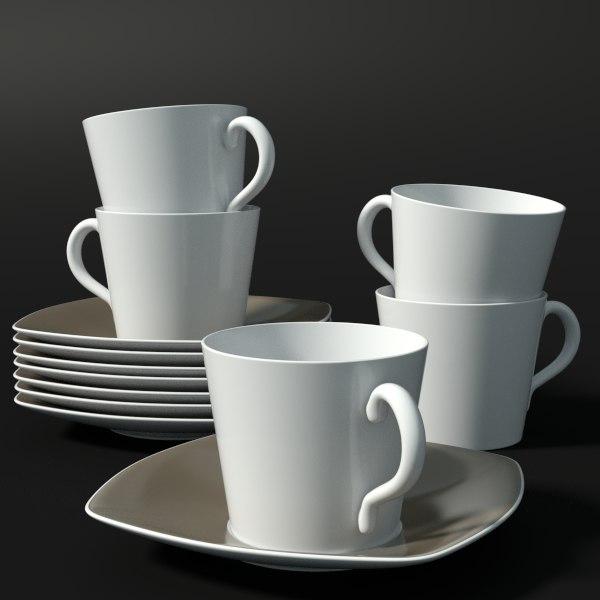 fbx tea cup